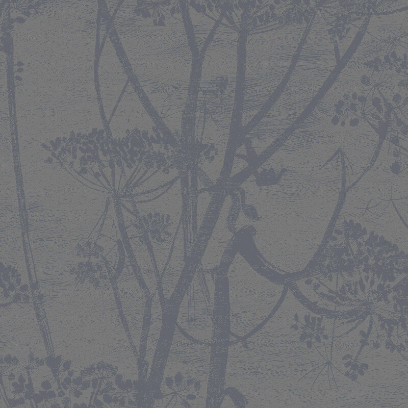 Cole & Son Cow Parsley Charcoal Wallpaper - 95/9050