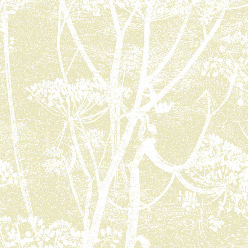 Cole & Son Cow Parsley Light Gold Wallpaper - 95/9053