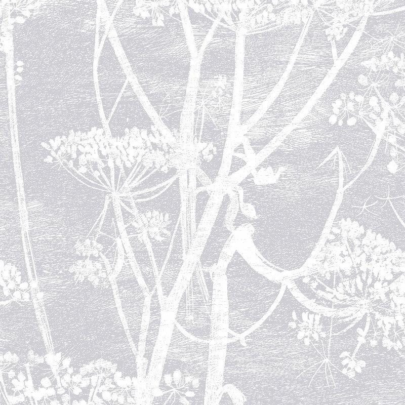 Cole & Son Cow Parsley Lilac/Grey Wallpaper - 95/9049