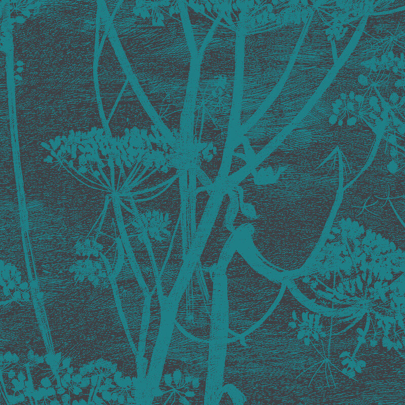 Cole & Son Cow Parsley Viridian Wallpaper - 112/8030