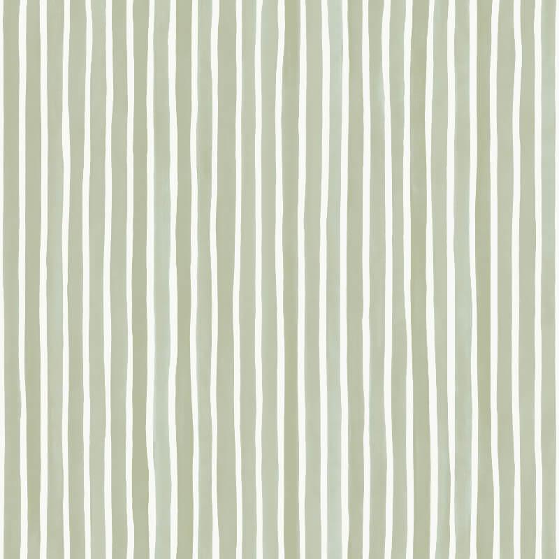Cole & Son Croquet Stripe Olive Wallpaper - 110/5030