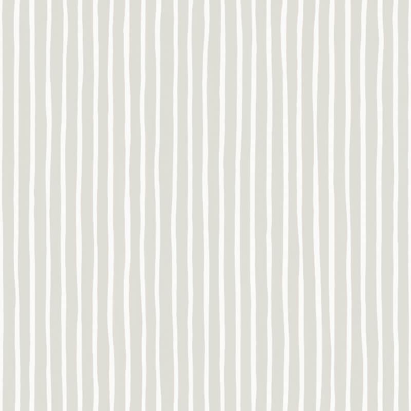 Cole & Son Croquet Stripe Parchment Wallpaper - 110/5027