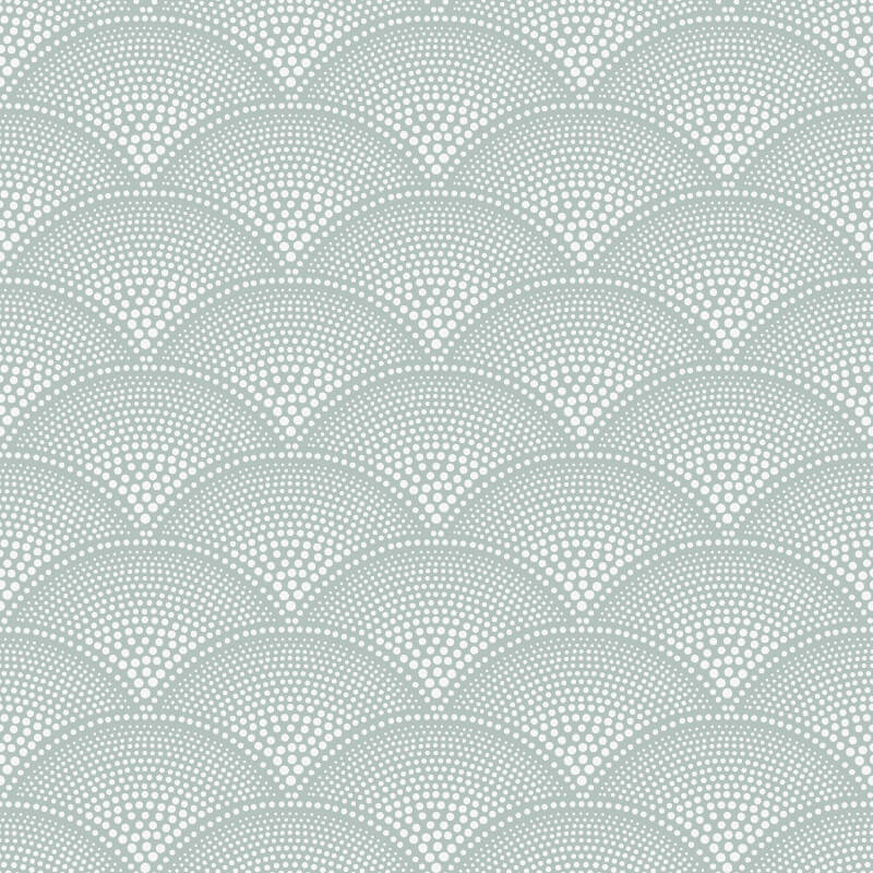 Cole & Son Feather Fan Seafoam Wallpaper - 112/10036