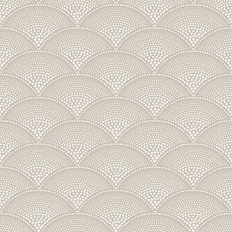 Cole & Son Feather Fan Taupe Wallpaper - 112/10034