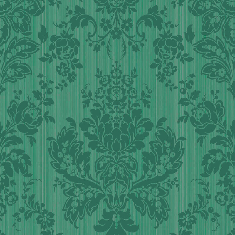 Cole & Son Giselle Forest Green Wallpaper - 108/5027