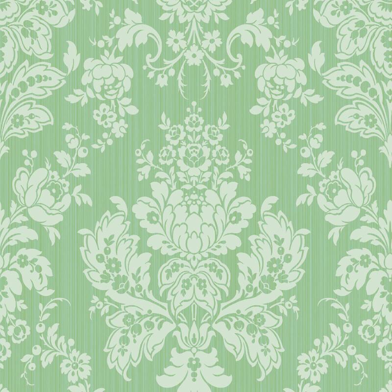 Cole & Son Giselle Leaf Green Wallpaper - 108/5028