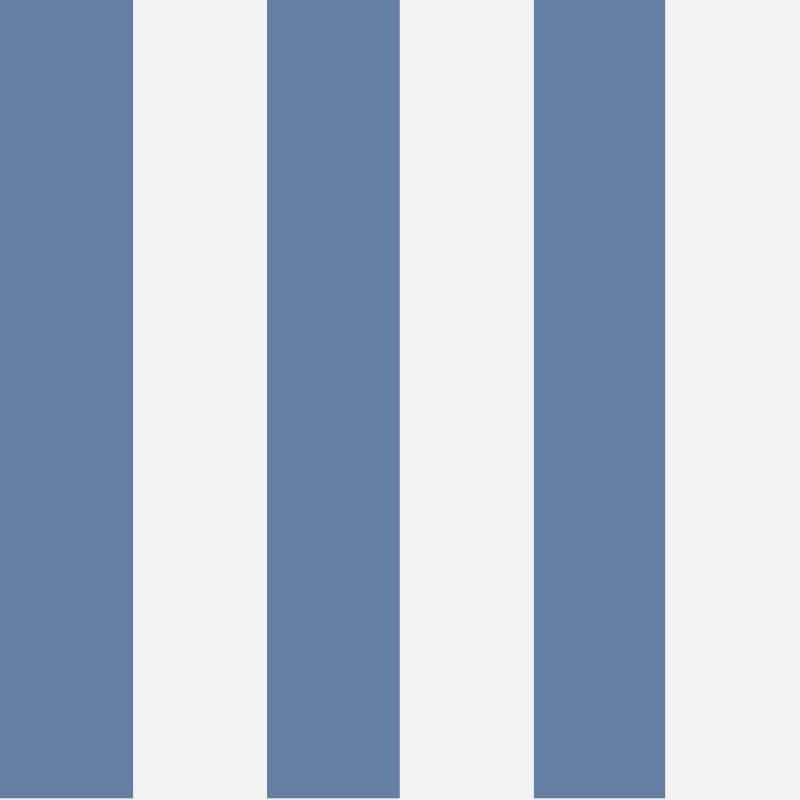 Cole & Son Glastonbury Stripe Nautical Blue Wallpaper - 96/4023