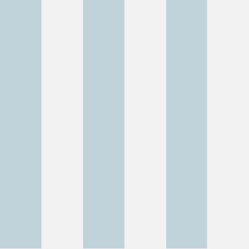 Cole & Son Glastonbury Stripe Pale Blue Wallpaper - 96/4022