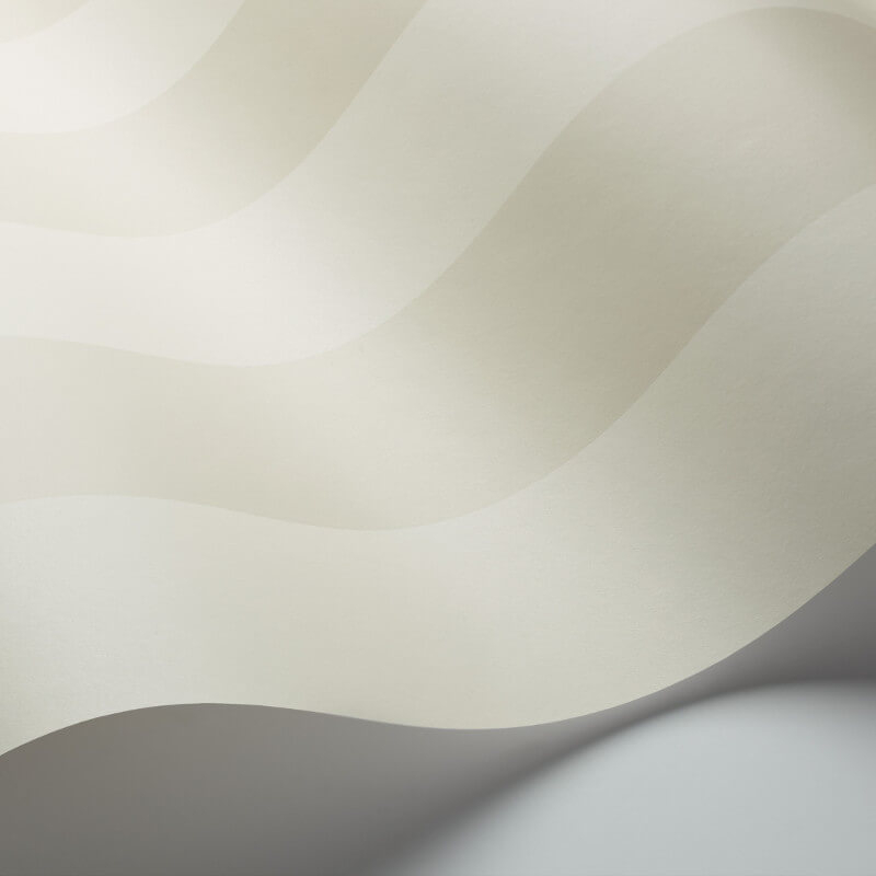Cole & Son Glastonbury Stripe Parchment Wallpaper - 110/6033