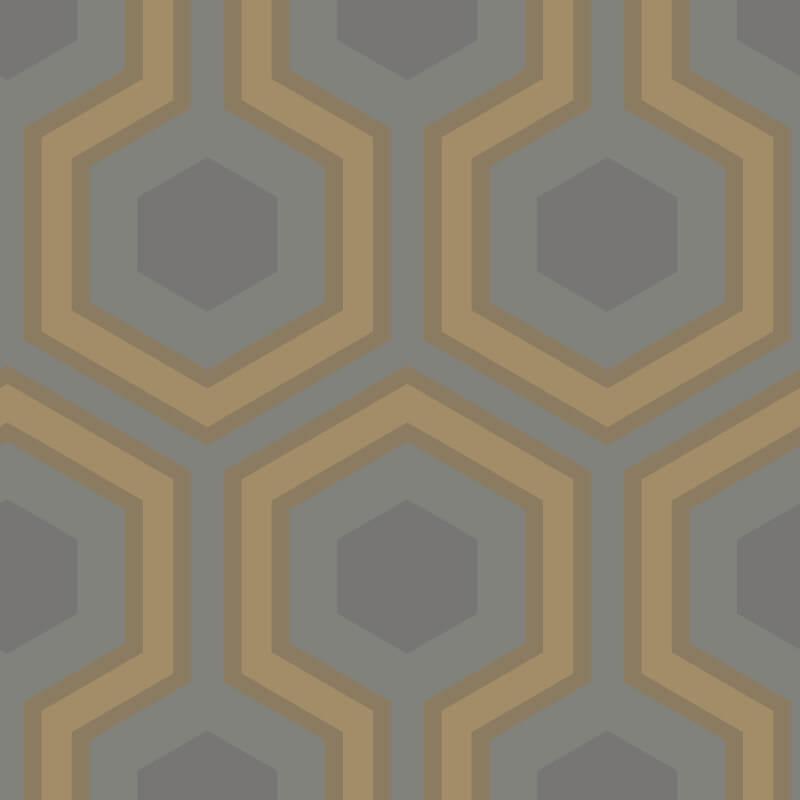 Cole & Son Hicks Grand Gold Wallpaper - 95/6033