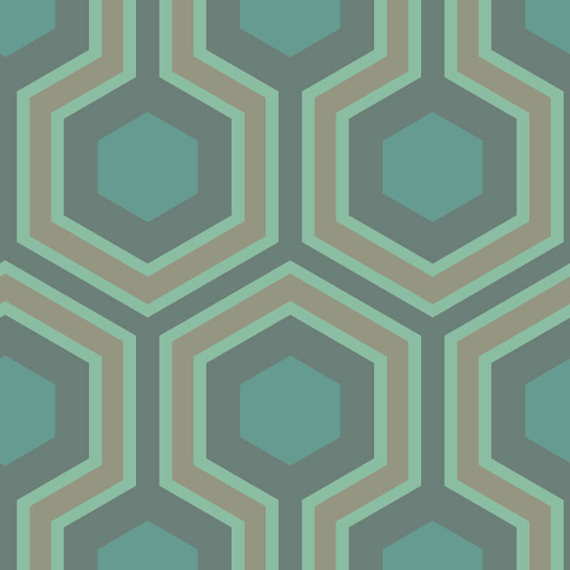 Cole & Son Hicks Grand Green Wallpaper - 95/6034