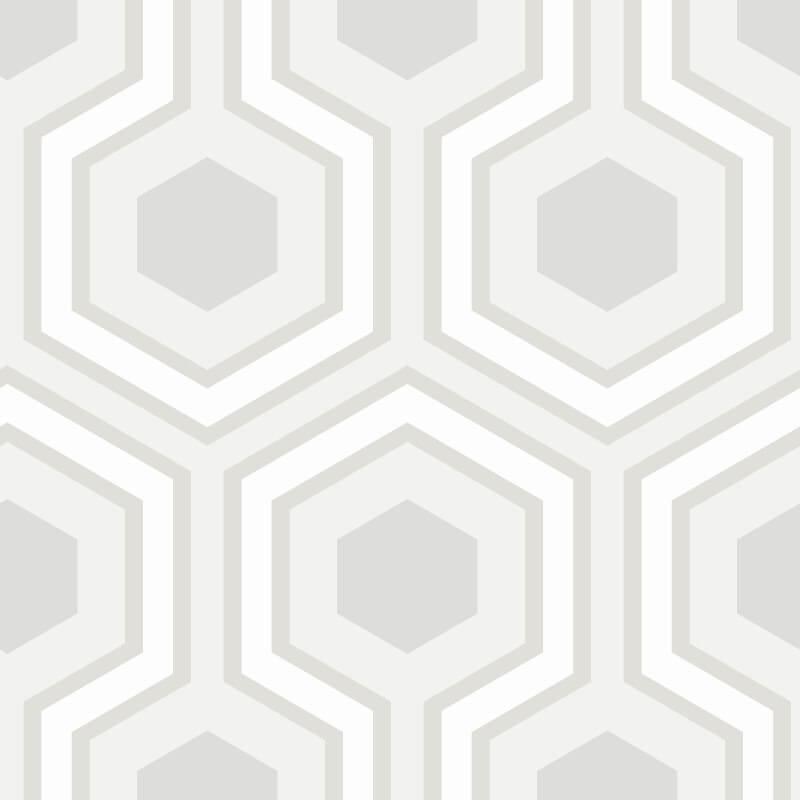 Cole & Son Hicks Grand Grey Wallpaper - 95/6036