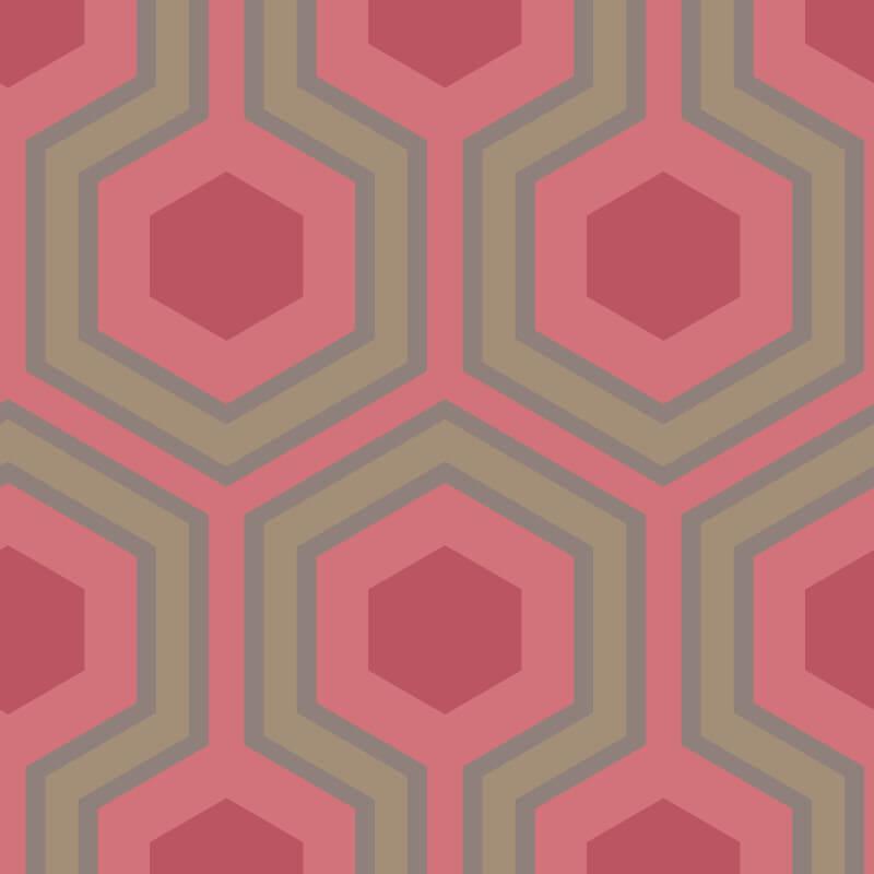 Cole & Son Hicks Grand Red Wallpaper - 95/6038