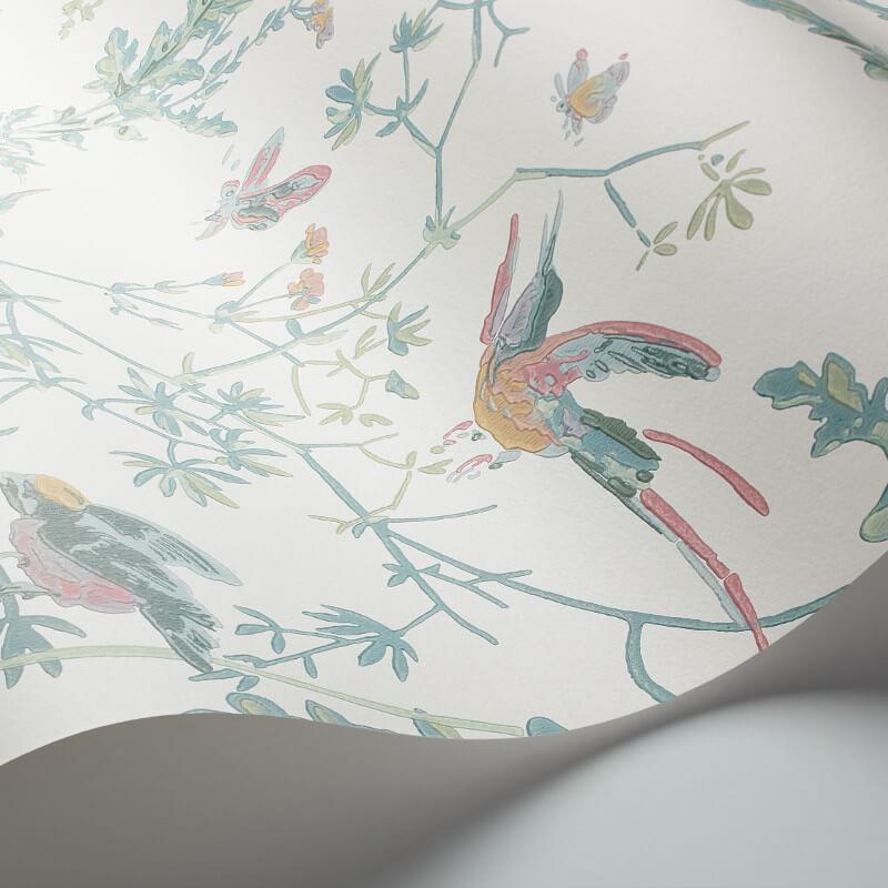 Cole & Son Hummingbirds Pastel Wallpaper - 112/4016