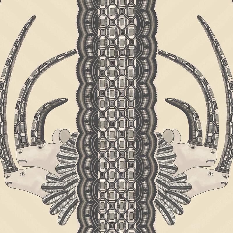 Cole & Son Jabu Black/White Wallpaper - 109/3014