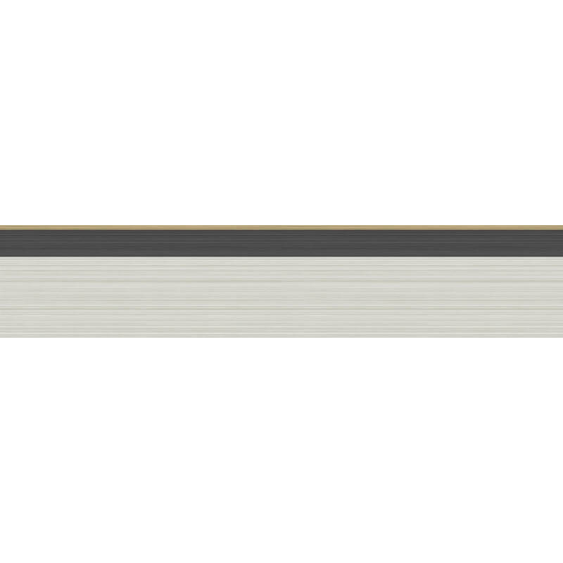 Cole & Son Jaspe Linen/Black/Gold Wallpaper Border - 110/10045