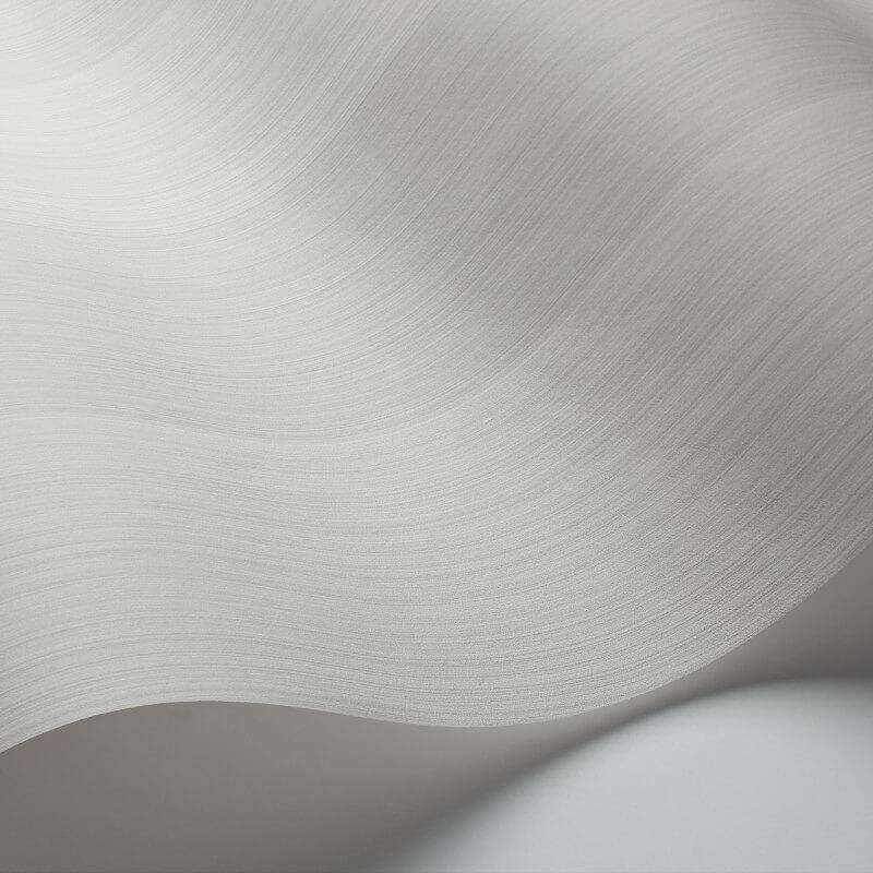 Cole & Son Jaspe Stripe Soft Grey Wallpaper - 110/4024