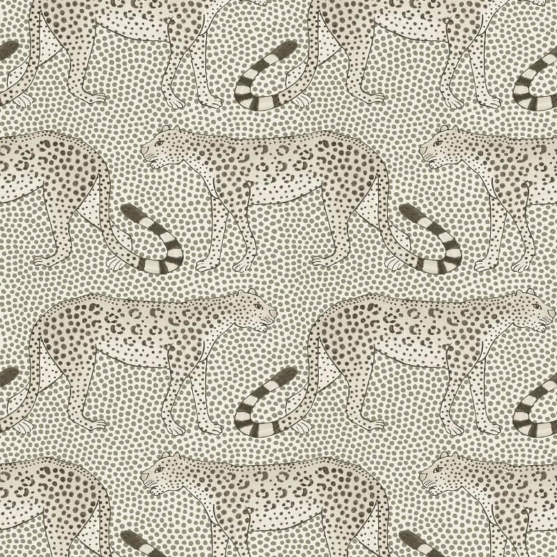 Cole & Son Leopard Walk Black/White Wallpaper - 109/2011