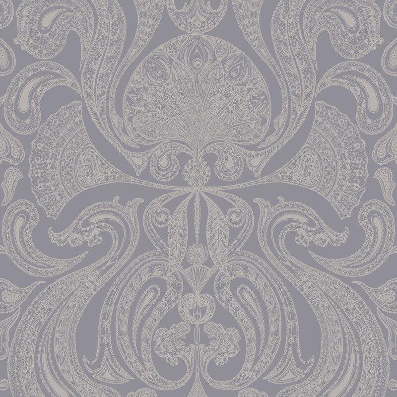 Cole & Son Malabar Silver/Grey Wallpaper - 95/7042
