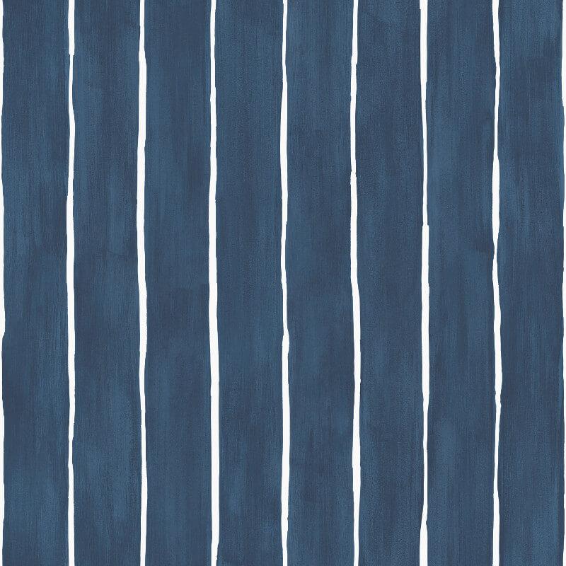 Cole & Son Marquee Stripe Ink Wallpaper - 110/2007