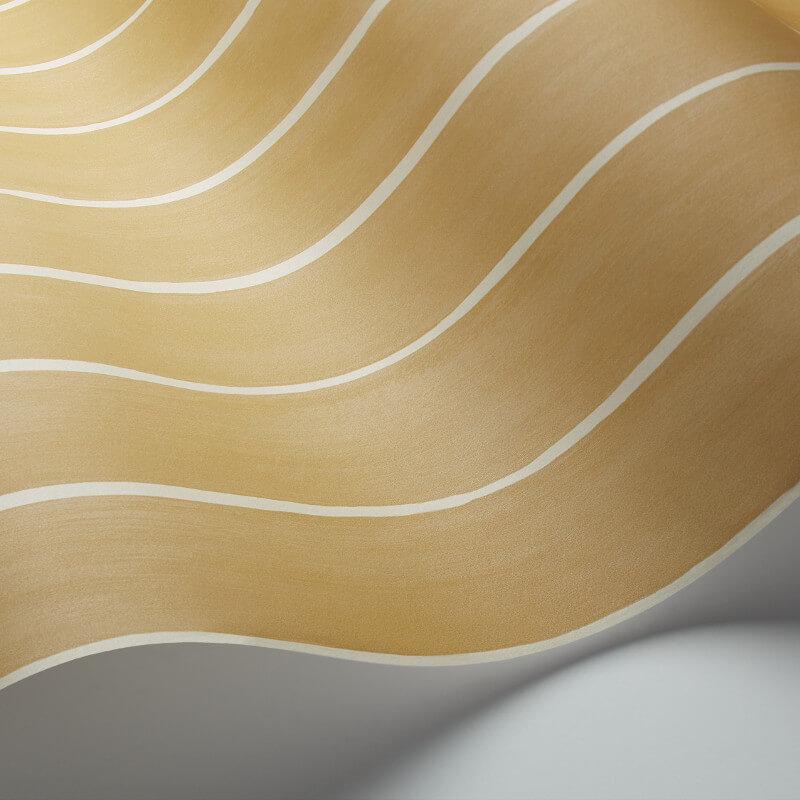 Cole & Son Marquee Stripe Mustard Wallpaper - 110/2010