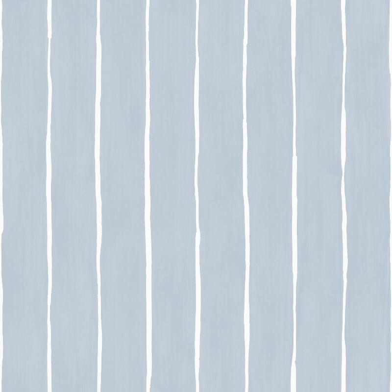 Cole & Son Marquee Stripe Pale Blue Wallpaper - 110/2008