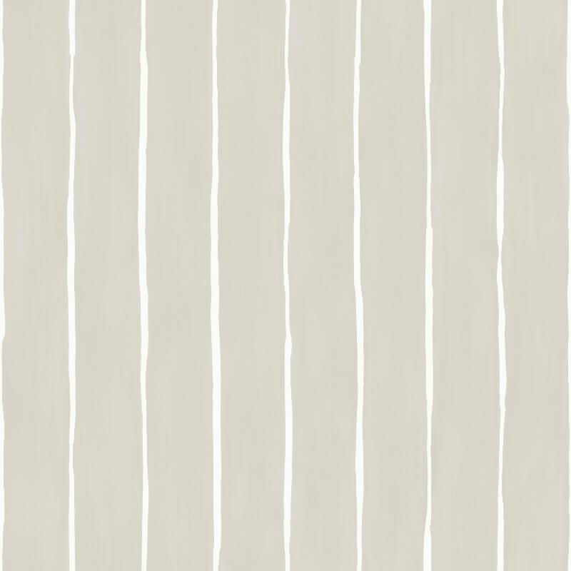 Cole Son Marquee Stripe Parchment Wallpaper