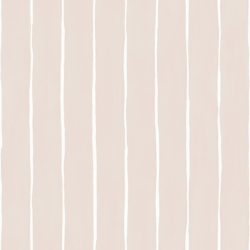 Cole & Son Marquee Stripe Soft Pink Wallpaper - 110/2012