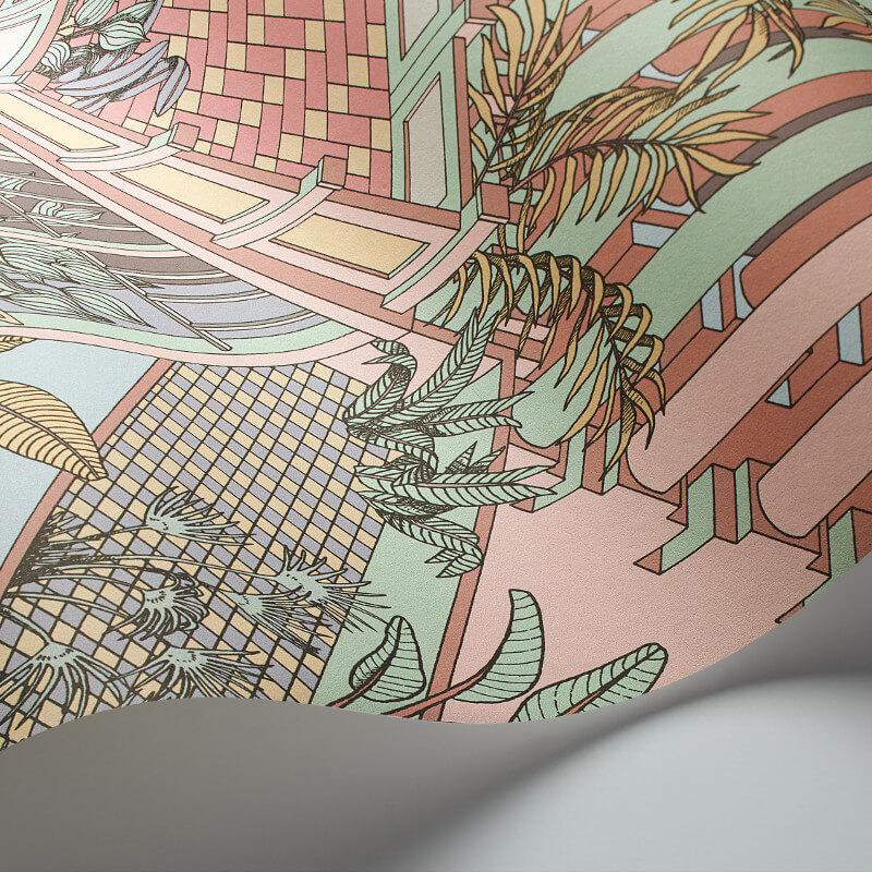 Cole & Son Miami Pastel Wallpaper - 112/6023