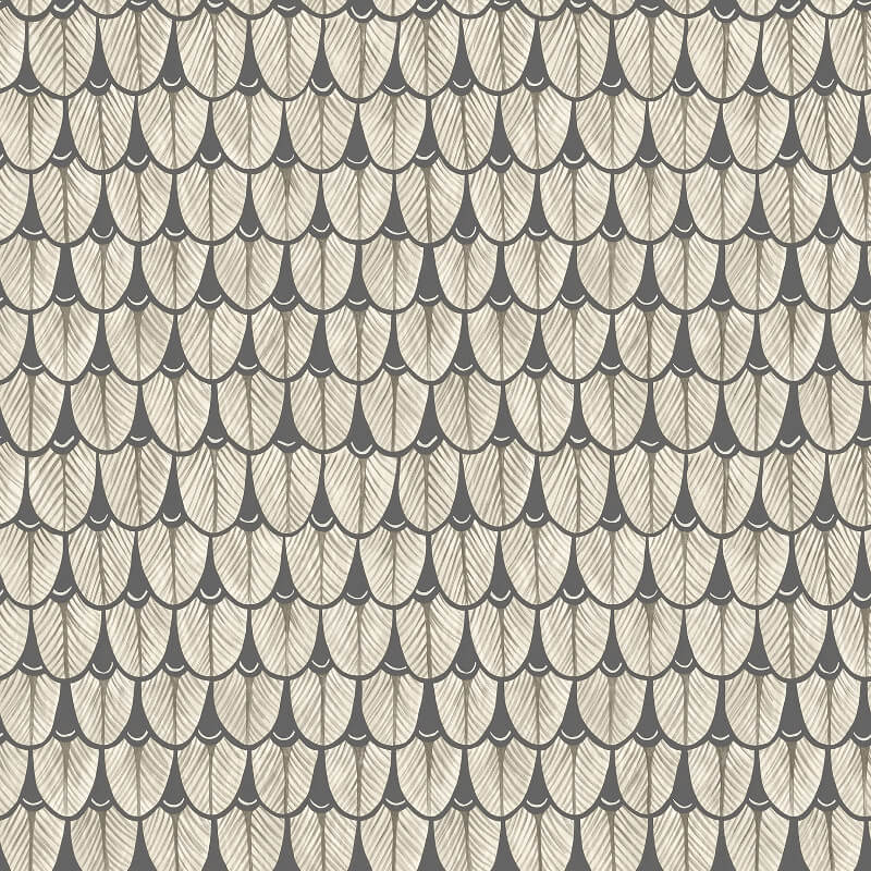 Cole & Son Narina Black/White Wallpaper - 109/10048