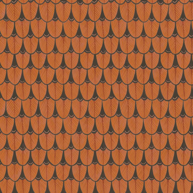 Cole & Son Narina Burnt Orange Wallpaper - 109/10050