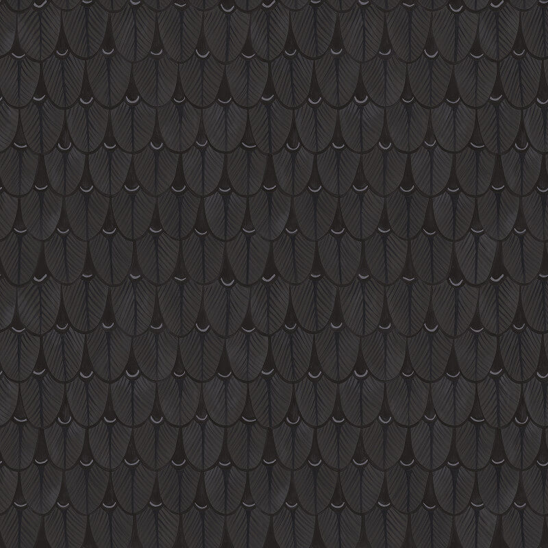 Cole & Son Narina Charcoal Wallpaper - 109/10046