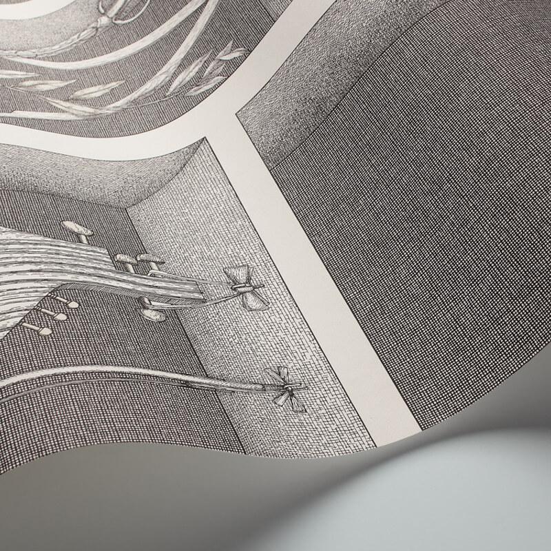 Cole & Son Nicchie Black/White Wallpaper - 97/11033