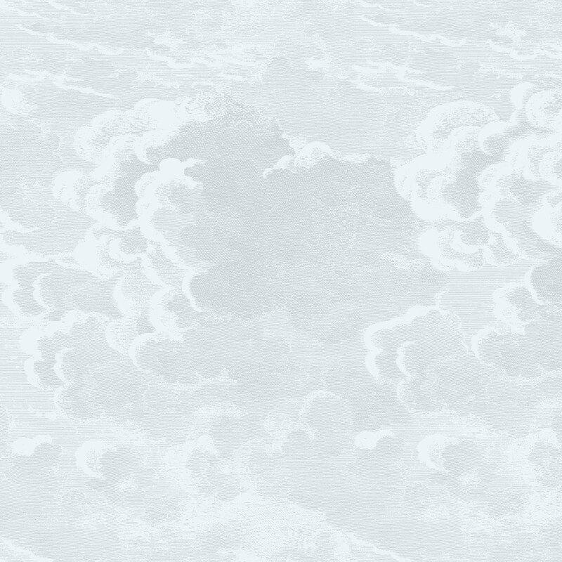 Cole & Son Nuvolette Pale Blue Wallpaper - 97/2006