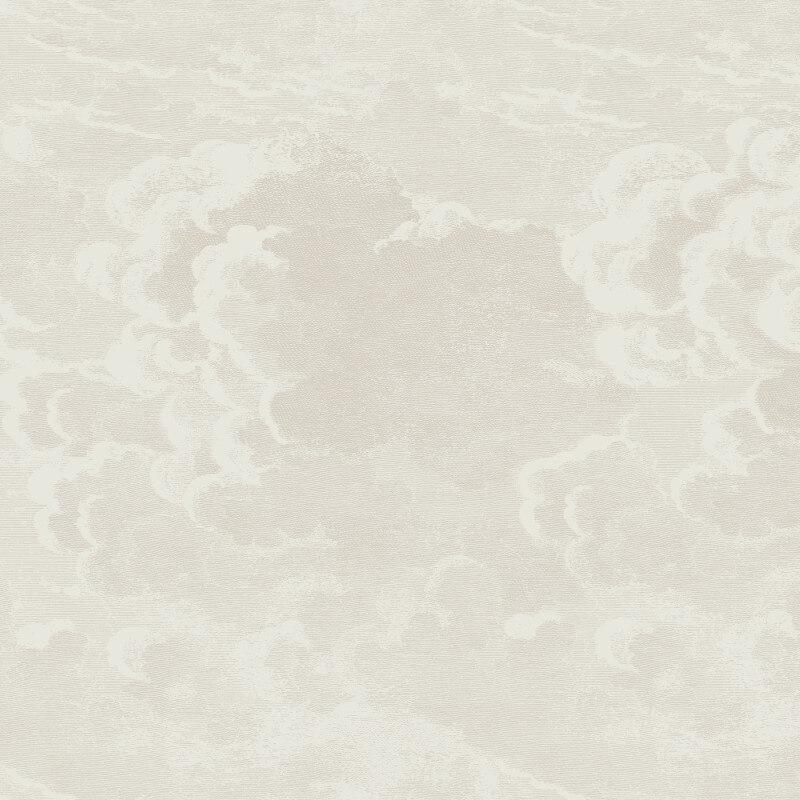 Cole & Son Nuvolette White Wallpaper - 97/2004