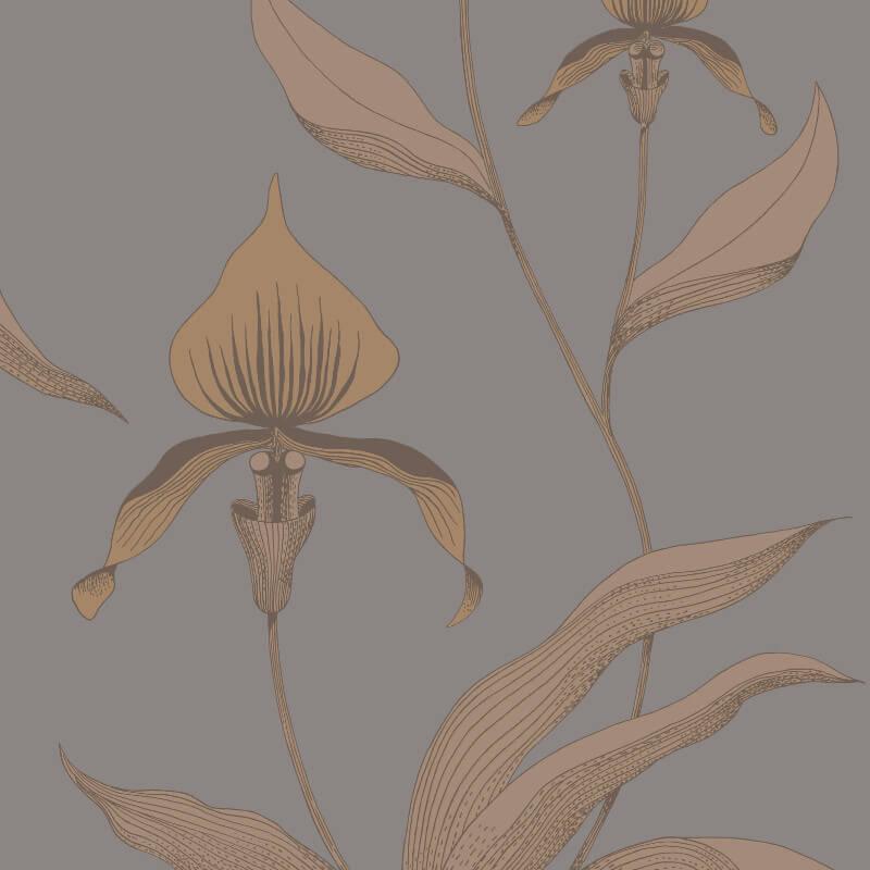 Cole & Son Orchid Bronze Wallpaper - 95/10056