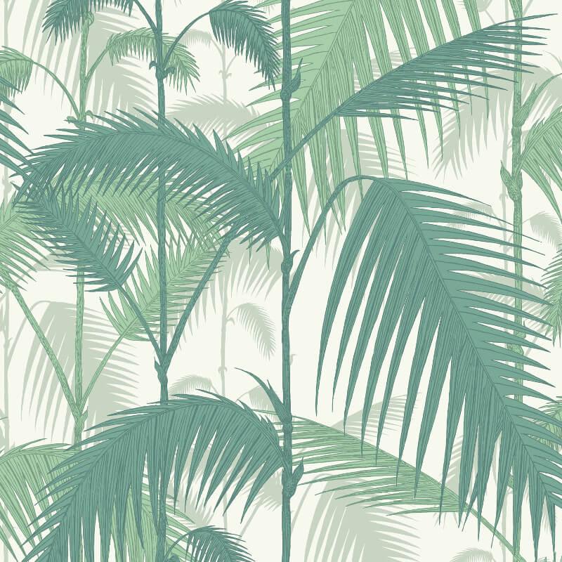 Cole & Son Palm Jungle Emerald Green Wallpaper - 95/1002