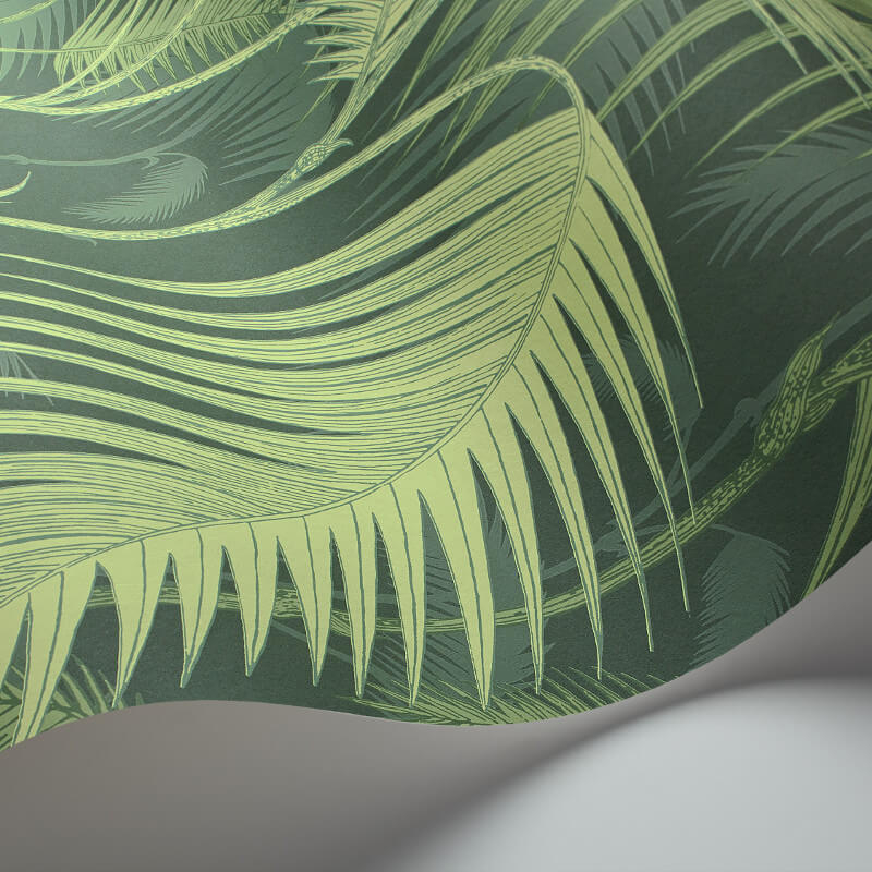 Cole & Son Palm Jungle Forest Green Wallpaper - 112/1003