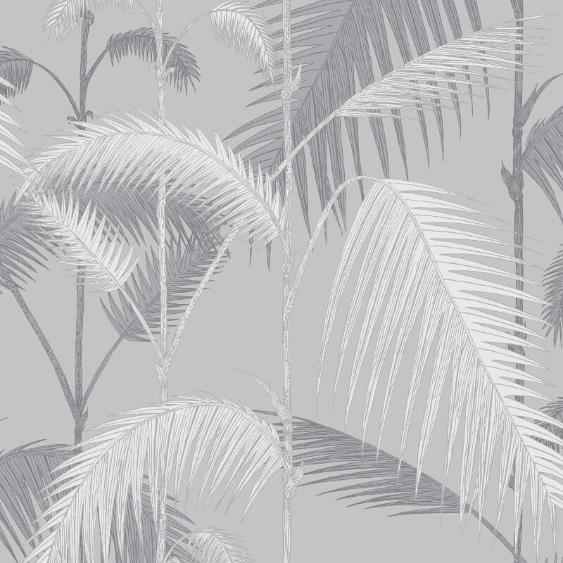 Cole & Son Palm Jungle Lilac/Grey Wallpaper - 95/1007