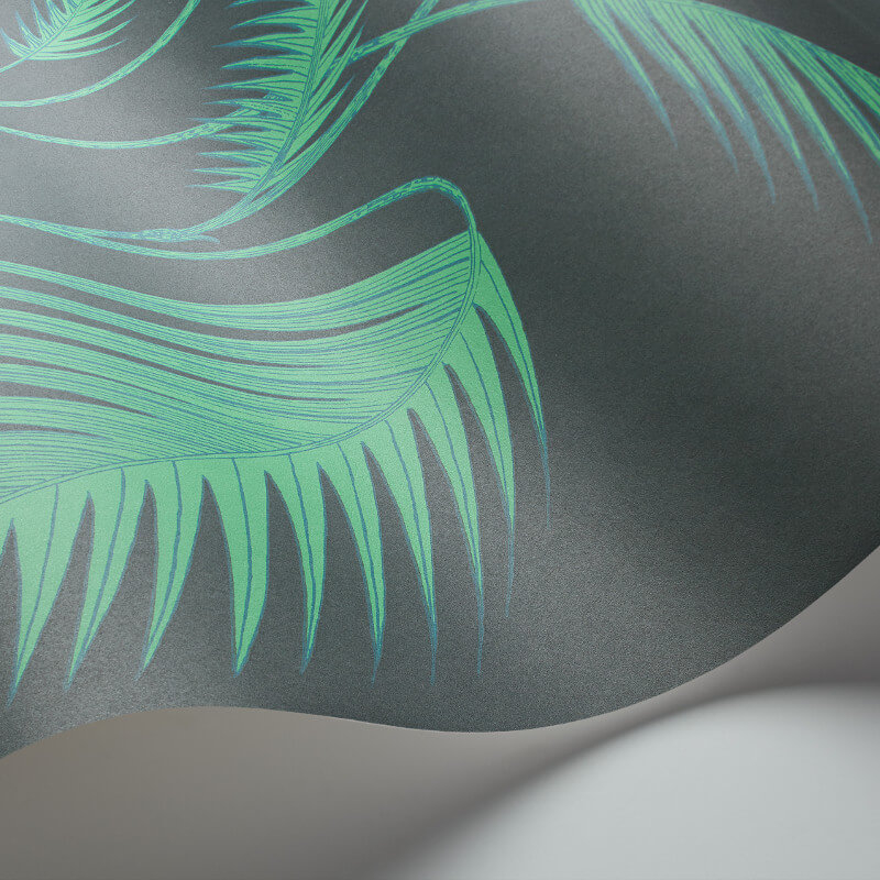 Cole & Son Palm Leaves Virdian Wallpaper - 112/2007