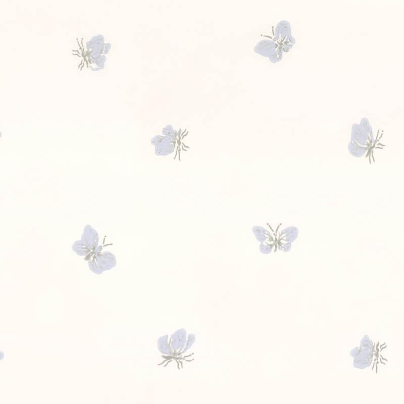 Cole & Son Peaseblossom White/Lilac Wallpaper - 103/10033