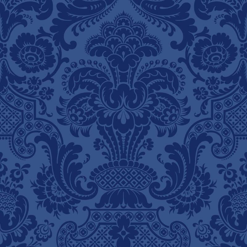 Cole & Son Petrouchka Blue Wallpaper - 108/3011