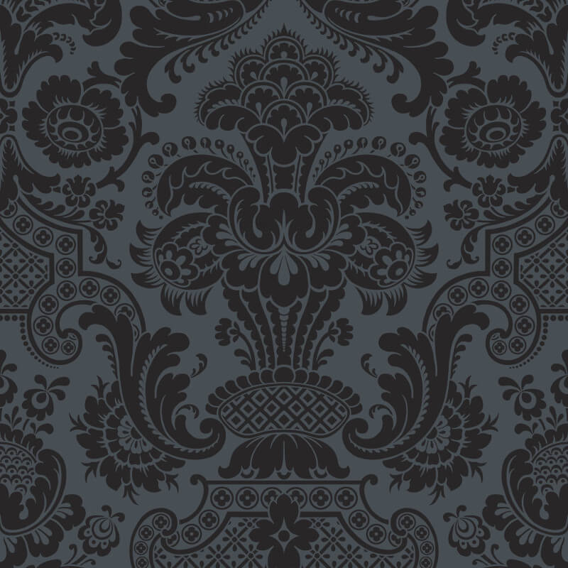 Cole & Son Petrouchka Charcoal Wallpaper - 108/3013