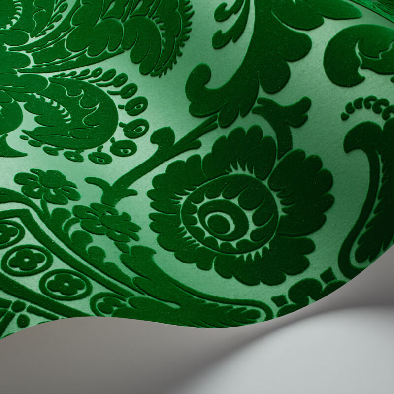 Cole & Son Petrouchka Green Wallpaper - 108/3012