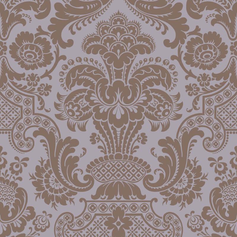 Cole & Son Petrouchka Lilac Wallpaper - 108/3015