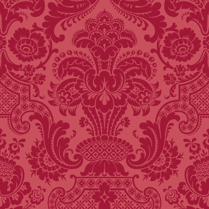 Cole & Son Petrouchka Red Wallpaper - 108/3014