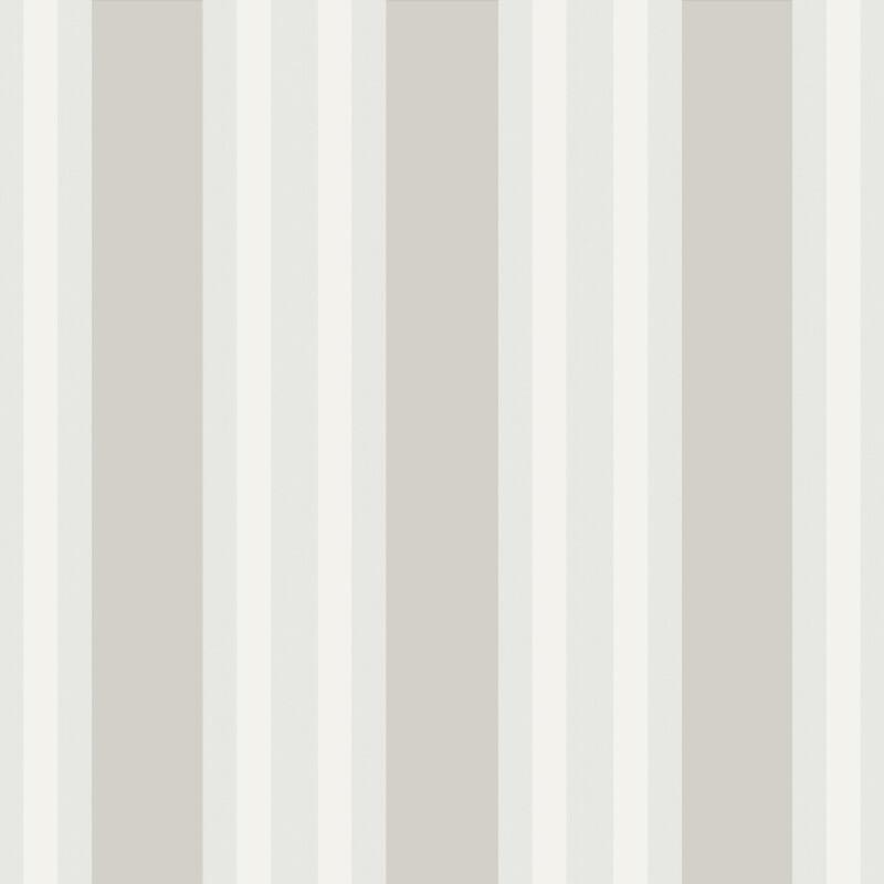 Cole & Son Polo Stripe Stone Wallpaper - 110/1005