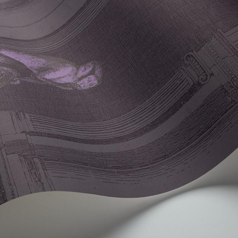Cole & Son Procuratie e Scimmie Midnight Wallpaper - 97/8023