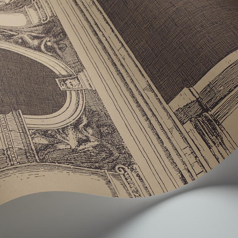 Cole & Son Procuratie Linen/Gold Wallpaper - 97/9029