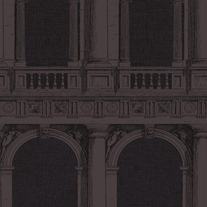 Cole & Son Procuratie Midnight Wallpaper - 97/9027